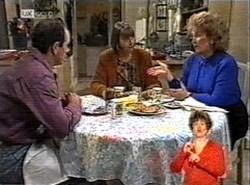 Philip Martin, Anne Teschendorff, Cheryl Stark in Neighbours Episode 2166