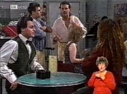 Rick Alessi, Mark Gottlieb, Dave Gottlieb, Cody Willis in Neighbours Episode 2166