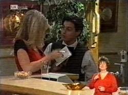 Annalise Hartman, Rick Alessi in Neighbours Episode 2166