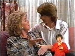 Cheryl Stark, Brett Stark in Neighbours Episode 2167