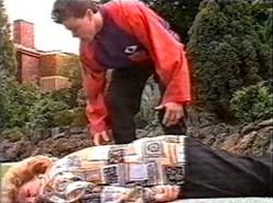Cheryl Stark, Michael Martin in Neighbours Episode 2167