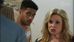 Kyle Canning, Levi Canning, Sheila Canning in Neighbours Episode 8553