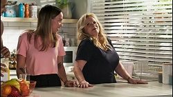 Levi Canning, Bea Nilsson, Sheila Canning in Neighbours Episode 8553
