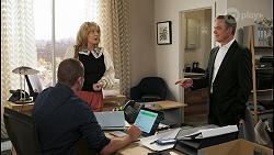 Toadie Rebecchi, Melanie Pearson, Paul Robinson in Neighbours Episode 8553