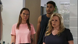 Bea Nilsson, Levi Canning, Sheila Canning in Neighbours Episode 8554