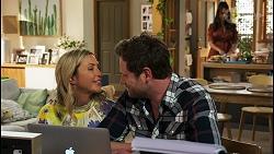 Amy Greenwood, Shane Rebecchi, Dipi Rebecchi in Neighbours Episode 8554