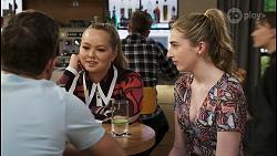Ned Willis, Harlow Robinson, Mackenzie Hargreaves in Neighbours Episode 8555