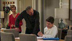 Susan Kennedy, Karl Kennedy, Hendrix Greyson in Neighbours Episode 8555