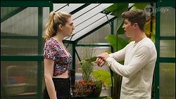 Mackenzie Hargreaves, Hendrix Greyson in Neighbours Episode 8555