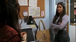 Dipi Rebecchi, Yashvi Rebecchi in Neighbours Episode 8555