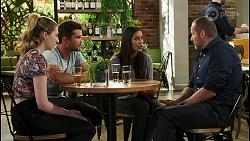 Mackenzie Hargreaves, Ned Willis, Yashvi Rebecchi, Toadie Rebecchi in Neighbours Episode 8556