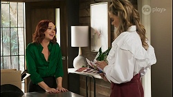 Nicolette Stone, Chloe Brennan in Neighbours Episode 8557