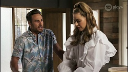 Aaron Brennan, Chloe Brennan in Neighbours Episode 8557