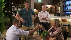 Toadie Rebecchi, Kyle Canning, Clive Gibbons, Melanie Pearson in Neighbours Episode 8557