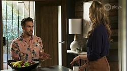 Aaron Brennan, Chloe Brennan in Neighbours Episode 8558