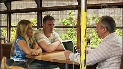 Roxy Willis, Kyle Canning, Karl Kennedy in Neighbours Episode 8559