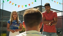 Roxy Willis, Kyle Canning, Levi Canning in Neighbours Episode 8559