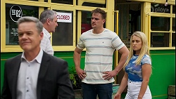 Paul Robinson, Karl Kennedy, Kyle Canning, Roxy Willis in Neighbours Episode 8560