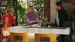 Amy Greenwood, Mackenzie Hargreaves, Shane Rebecchi in Neighbours Episode 8560