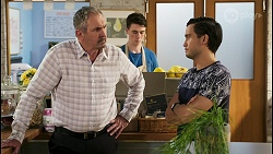 Karl Kennedy, David Tanaka in Neighbours Episode 8560