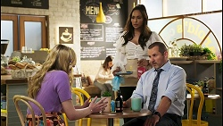 Mackenzie Hargreaves, Dipi Rebecchi, Toadie Rebecchi in Neighbours Episode 8560