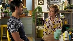 David Tanaka, Susan Kennedy in Neighbours Episode 8560