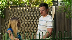 Roxy Willis, Kyle Canning in Neighbours Episode 8560