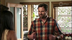 Ned Willis, Yashvi Rebecchi, Shane Rebecchi in Neighbours Episode 8562