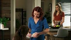 Fay Brennan, Nicolette Stone, Chloe Brennan in Neighbours Episode 8562