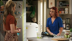 Chloe Brennan, Nicolette Stone in Neighbours Episode 8562