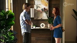 Brent Colefax, Nicolette Stone in Neighbours Episode 8563