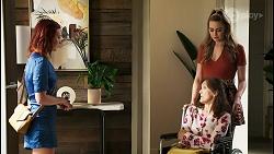 Nicolette Stone, Fay Brennan, Chloe Brennan in Neighbours Episode 8563