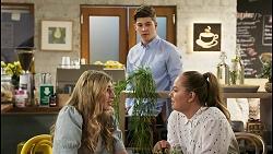 Mackenzie Hargreaves, Hendrix Greyson, Harlow Robinson in Neighbours Episode 8563