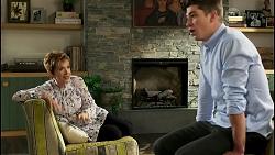 Susan Kennedy, Hendrix Greyson in Neighbours Episode 8563