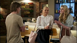 Brent Colefax, Harlow Robinson, Mackenzie Hargreaves in Neighbours Episode 8563