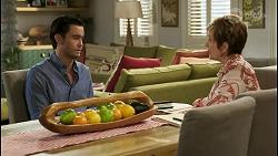 David Tanaka, Susan Kennedy in Neighbours Episode 8564
