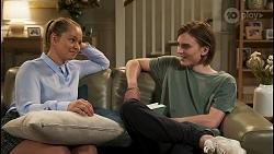 Harlow Robinson, Brent Colefax in Neighbours Episode 8565