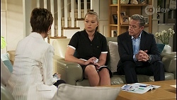 Susan Kennedy, Harlow Robinson, Paul Robinson in Neighbours Episode 8565