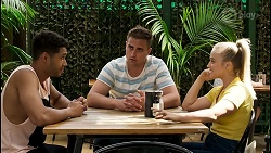 Levi Canning, Kyle Canning, Roxy Willis in Neighbours Episode 8565