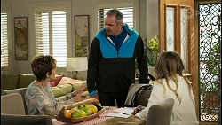 Susan Kennedy, Karl Kennedy, Olivia Bell in Neighbours Episode 8565