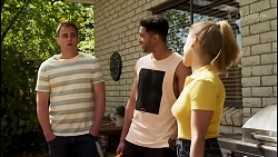 Kyle Canning, Levi Canning, Roxy Willis in Neighbours Episode 8567