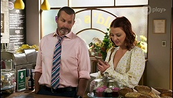 Toadie Rebecchi, Nicolette Stone in Neighbours Episode 8567