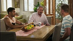 Levi Canning, Karl Kennedy, Kyle Canning in Neighbours Episode 8567