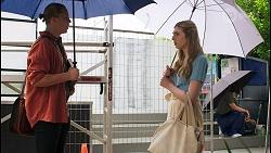 Richie Amblin, Mackenzie Hargreaves in Neighbours Episode 8568
