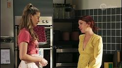 Chloe Brennan, Nicolette Stone in Neighbours Episode 8568