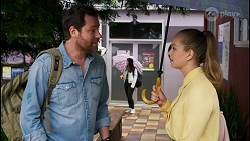 Shane Rebecchi, Harlow Robinson in Neighbours Episode 8568
