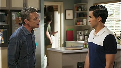 Paul Robinson, Brent Colefax, David Tanaka in Neighbours Episode 8569