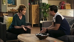 Susan Kennedy, David Tanaka in Neighbours Episode 8569
