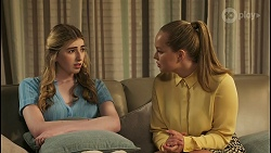 Mackenzie Hargreaves, Harlow Robinson in Neighbours Episode 8569