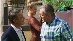 Paul Robinson, Roxy Willis, Karl Kennedy in Neighbours Episode 8570